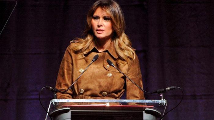 MelaniaTrump the first lady