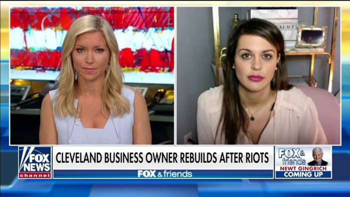Owner of Ohio store ransacked by rioters says she's receiving threats for cooperating with police