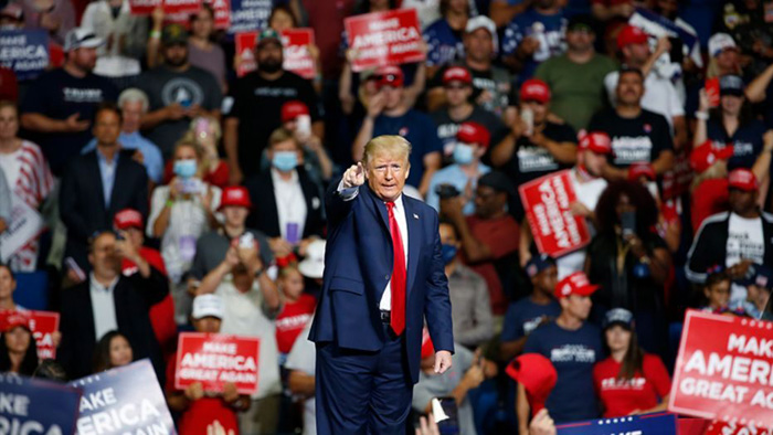 Trump urges AOC to run against Schumer, says she'd win
