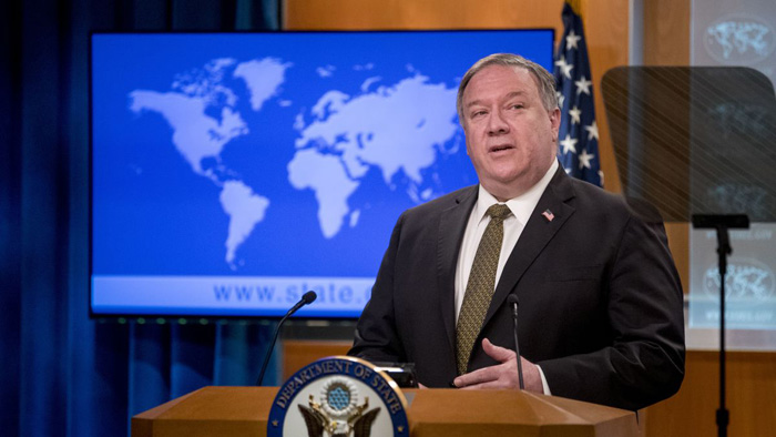 Pompeo urges China to release detained Canadians after 'groundless' charges