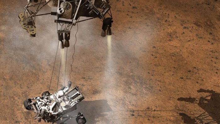 Space expert says 110 people is 'minimum number' to start life on Mars