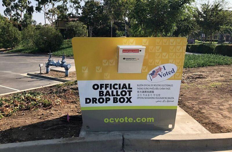 Fake ballot drop-offs appearing across California
