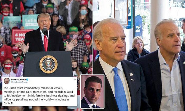 Hannity: Hunter Biden emails expose 'damning information', 'corrupt practices' of Biden family.