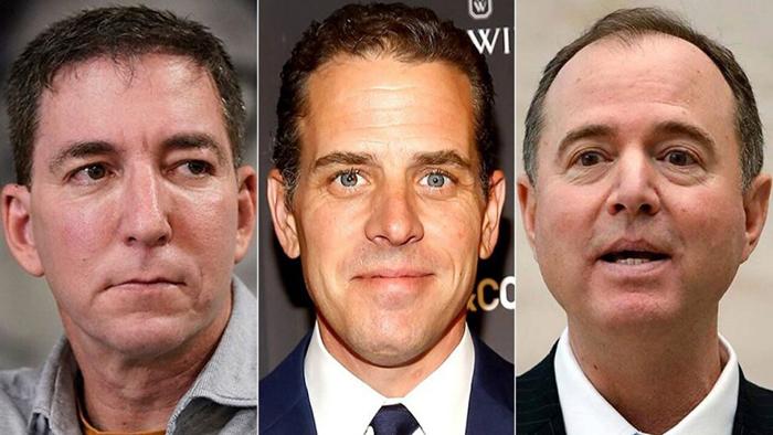 Glenn Greenwald trashes media 'cone of silence' around Hunter Biden email scandal