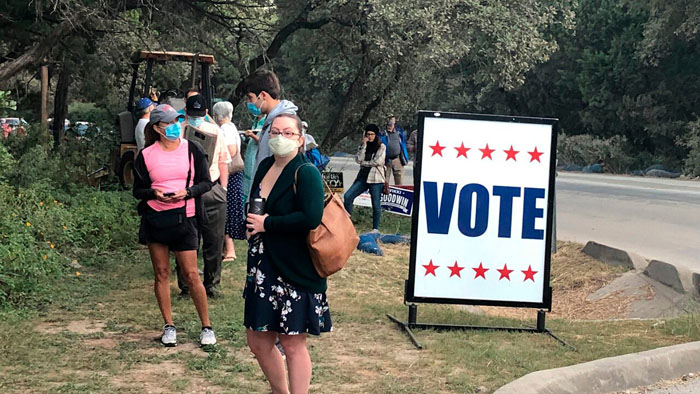 Texas Republicans challenge curbside, drive-thru voting in new lawsuit