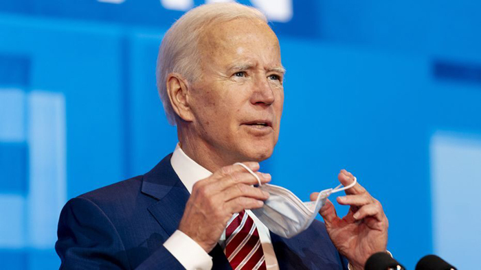 Joe Biden appears to confuse Trump with former President George W. Bush