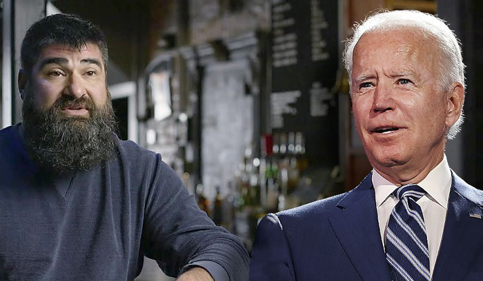 Biden campaign faces backlash for TV ad depicting Michigan tech CEO as struggling bar owner