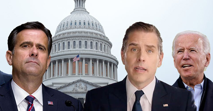 Ratcliffe says Hunter Biden laptop, emails 'not part of some Russian disinformation campaign'