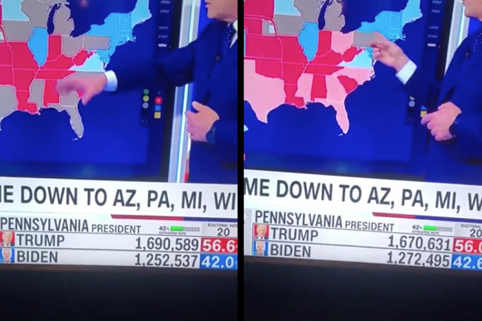 ALL Media Outlets PULL Live Voting Total Update Feeds - Too Many Americans Watching Vote-Switching