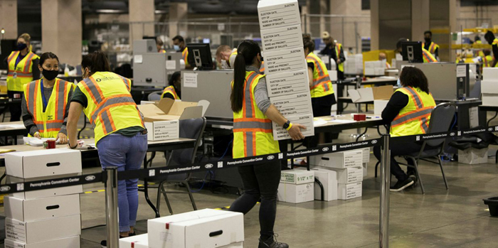Pennsylvania Democrats Go To Court To BLOCK Court Order Allowing Republicans From Observing Counting of Ballots