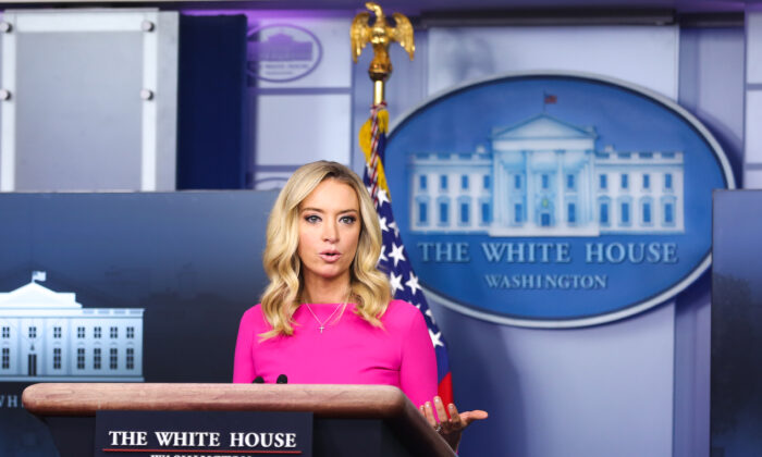 White House 'Not Aware' of Any Report Stemming From 2018 Executive Order: McEnany
