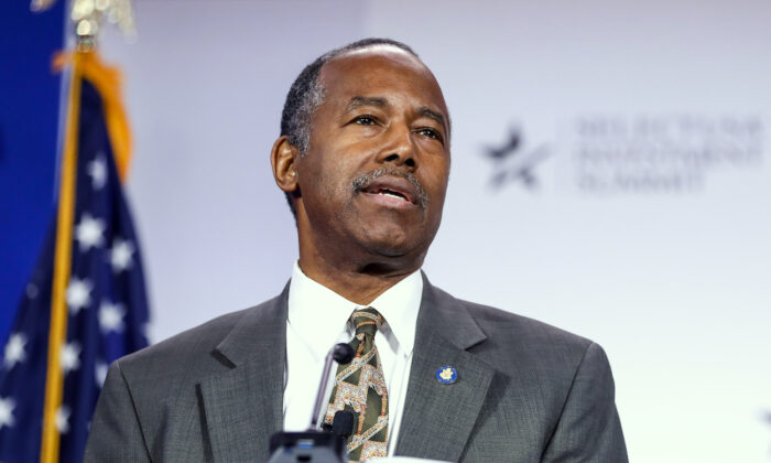 Ben Carson: Trump Could Have 'Tempered Down' Jan. 6 Speech but Wasn't to Blame for Capitol Breach