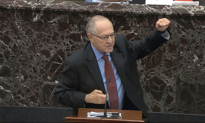 House Committed Six Violations of the Constitution During Impeachment: Alan Dershowitz
