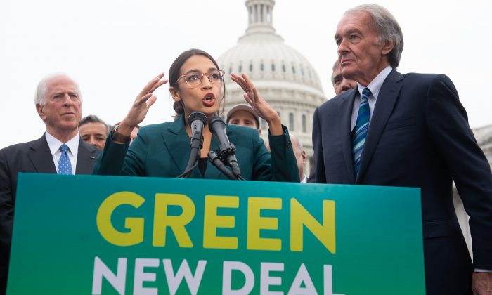 The Green New Deal Is About Government Control, Not the Environment: Expert