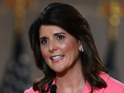 Nikki Haley Says She Will Not Run for President in 2024 If Trump Does