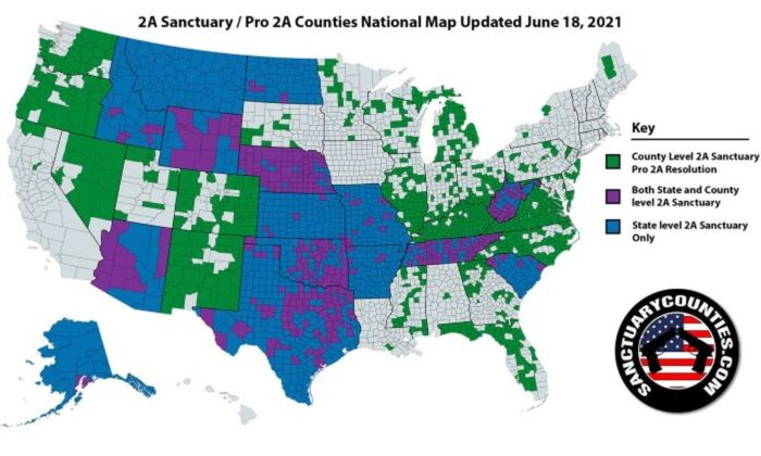 Gun Sanctuary Movement Erupts: 61 Percent of US Counties Now 'Second Amendment Sanctuaries'