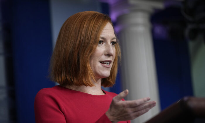 'Not a Day for Politics' Psaki Answers US Lawmakers' Calls for Biden to Resign