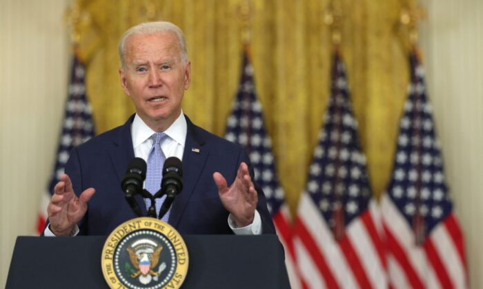 Biden Responds to Afghanistan Collapse: 'This Did Unfold More Quickly Than We Anticipated'