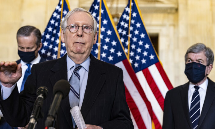 Sen. McConnell on Total Withdrawal From Afghanistan 'One of the Worst Foreign Policy Decisions in American History'