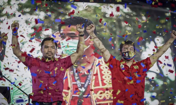 Boxer-Senator Manny Pacquiao to Run for Philippine President