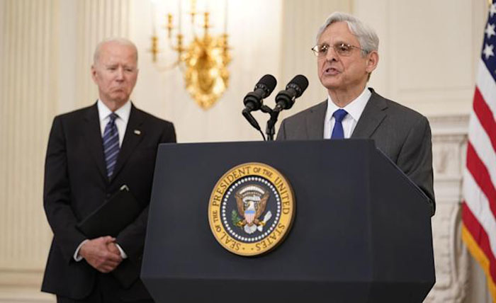 Biden is politicizing Justice Department, Republicans say