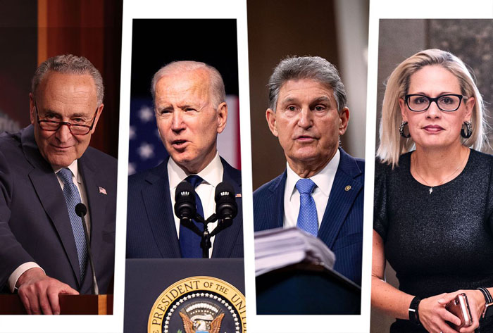 Manchin and Sinema should kill Biden's spending blowout — and maybe switch parties